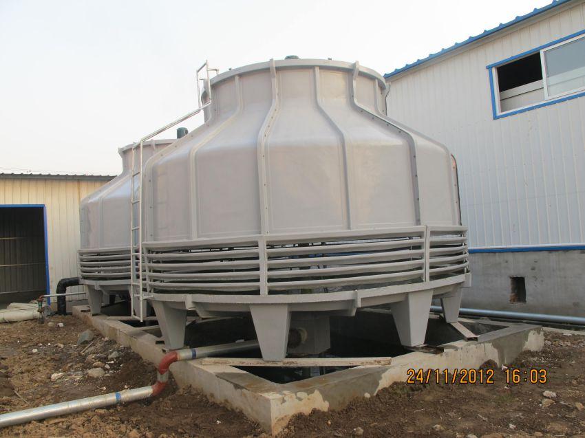 株洲说说玻璃钢冷却塔是怎样采用加热板来保温的生产厂家价格