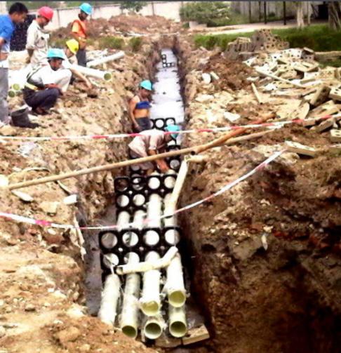 雷州玻璃钢电缆管的用途以及应用领域生产厂家价格