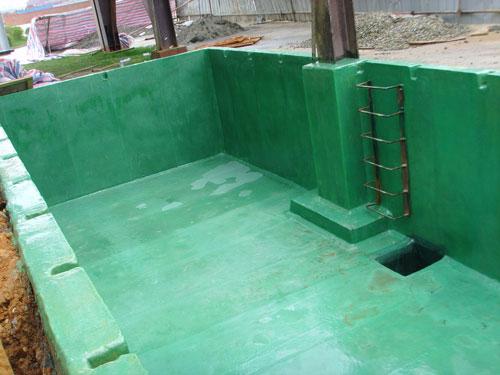 玻璃钢防腐工程施工方案