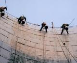 十堰 电厂冷却塔内壁防腐施工