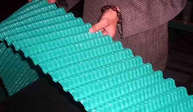 斜交错冷却塔填料性能特点及规格