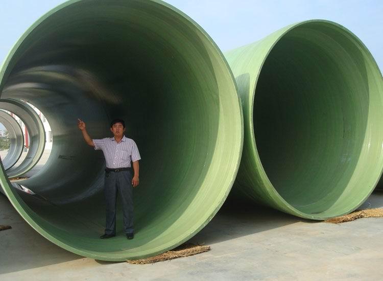 常宁玻璃钢夹砂管道主要原材料及成型工艺生产厂家价格