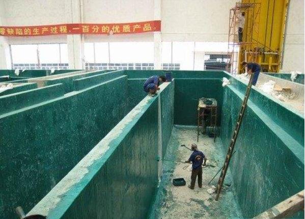 水池玻璃钢防腐实施方案