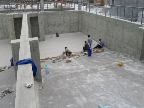 现浇水池玻璃钢防腐