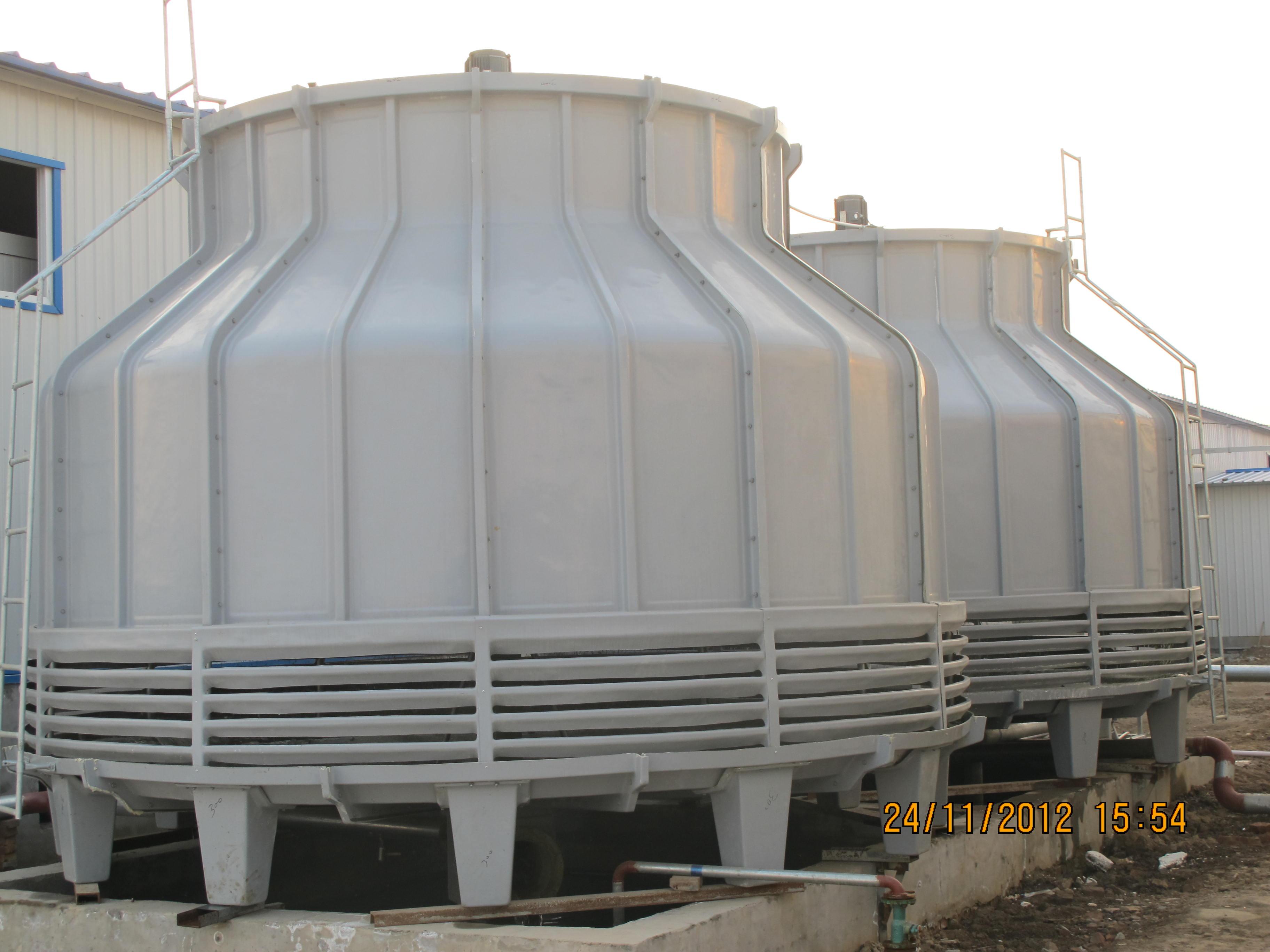 电厂冷却塔冷却流程