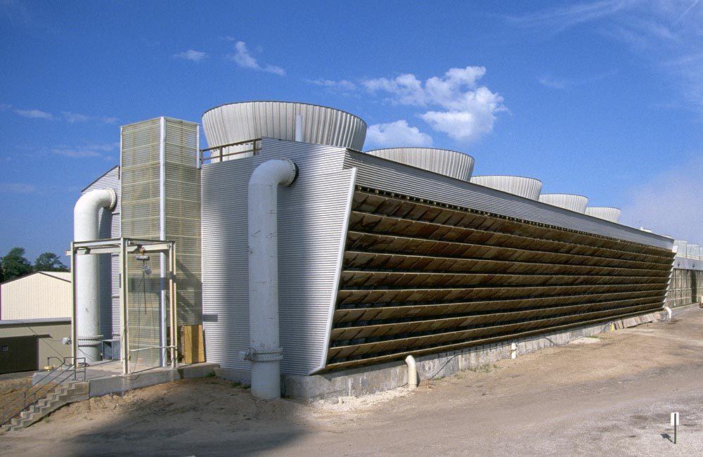 工业冷却塔基本工作原理