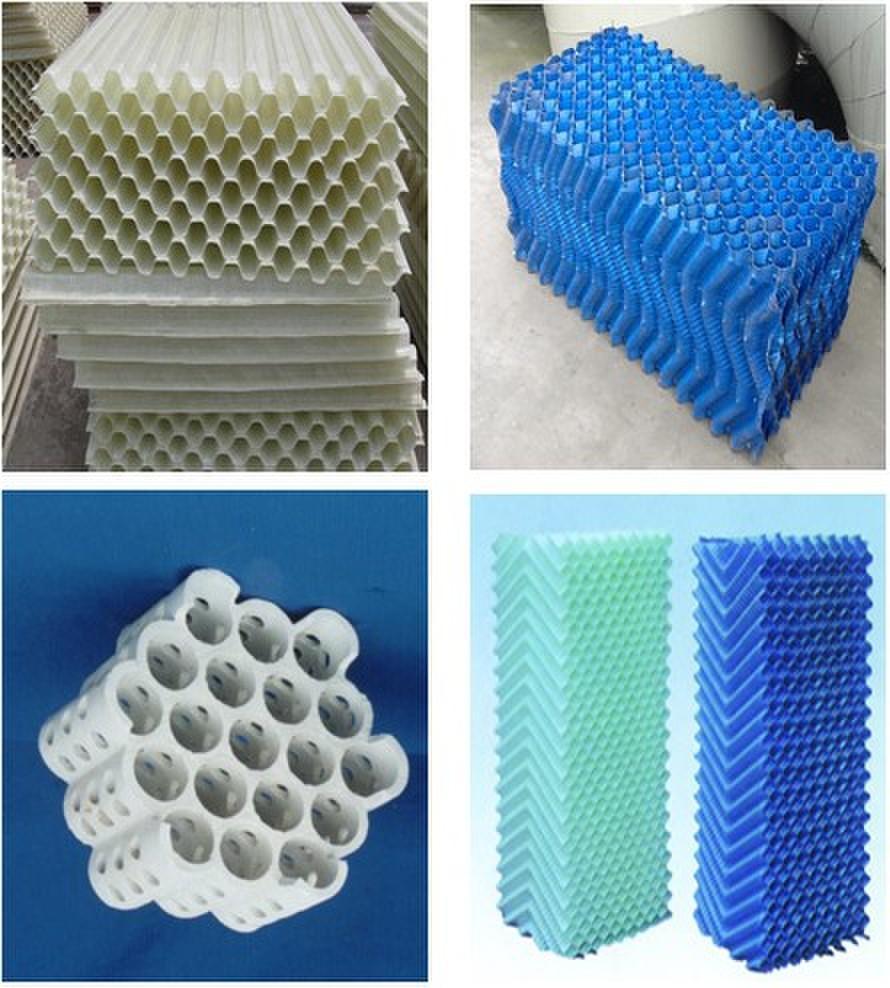 汨罗玻璃钢冷却塔填料分类、应用范围生产厂家价格