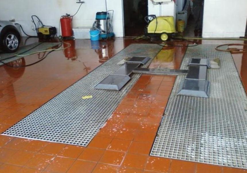 潞西河北港龙科技开发有限公司洗车房格栅 生产厂家价格