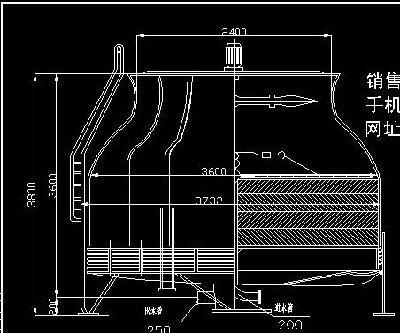长沙市场上常见的圆形逆流式冷却设备参数表生产厂家价格
