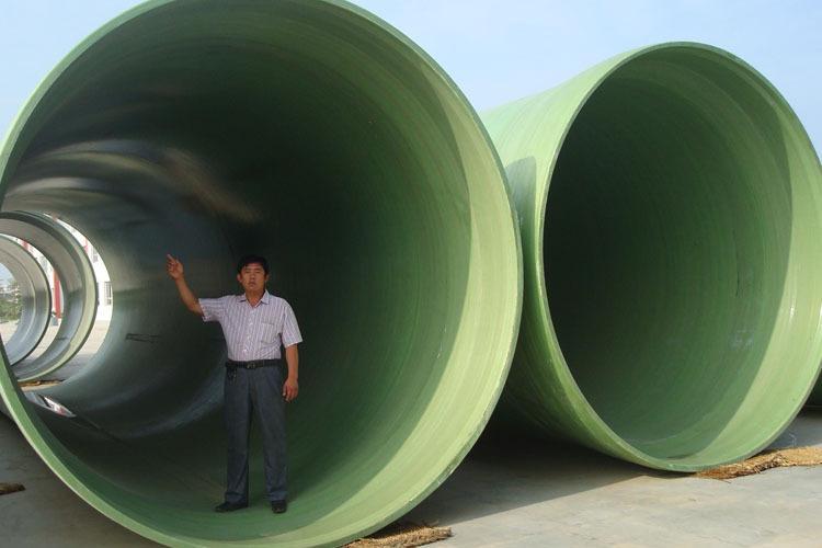 排污玻璃钢管简介