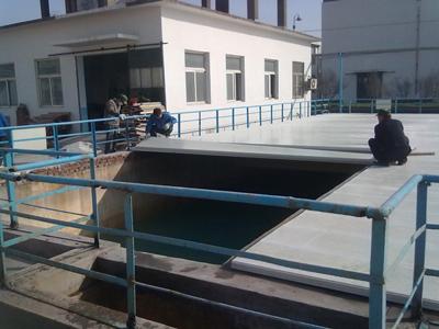 荆门污水池玻璃钢盖板产品展示生产厂家价格