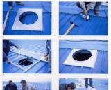 600型屋顶自然通风器优异神奇的特点: