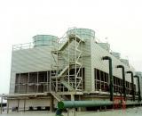 横流式玻璃钢冷却塔事例应用