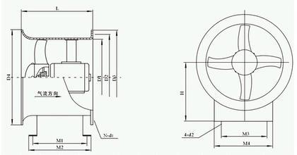 阐述BT35-11防爆型轴流式通风机的结构组成生产厂家价格