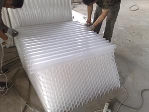 玻璃钢蜂窝填料介绍及产品性能生产厂家价格